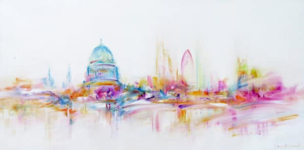 97716 Unite-and-Connected-Abstract-Cityscape-Artist-London-Sara-Sherwood