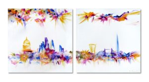 ears-Turn-to-Happiness-Abstract-Cityscape-Artist-London-Sara-Sherwood